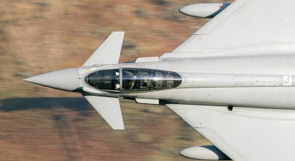 RAF Typhoon in the Lake District – Photo of the month January - image