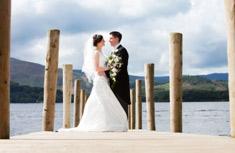 Rachel & Mark – Lodore Fall Hotel Wedding – July 2012 - image