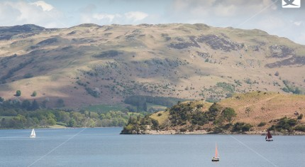 Sailing Lake Ullswater