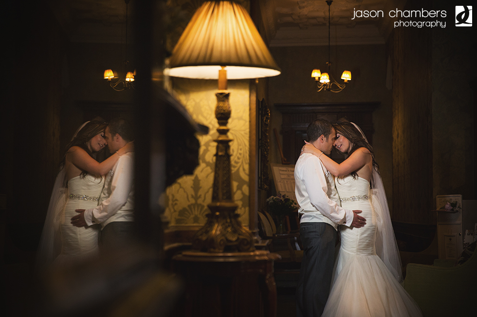 Sean & Victoria - The Merewood Country House Hotel - Photo of the month July