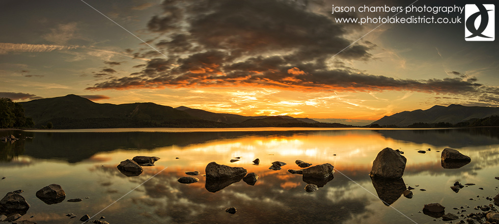 Skiddaw Panoramic Sunset