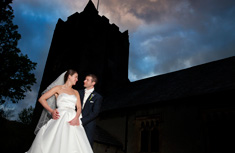 Laura and Phil – St Oswald's Church Grasmere – Wordsworth Hotel - image