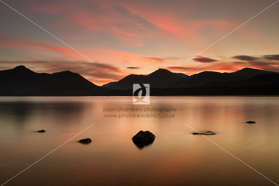Sunset Lake District Photo