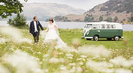 Protected: VW Camper – Emma & Karl – Glenridding Wedding - image