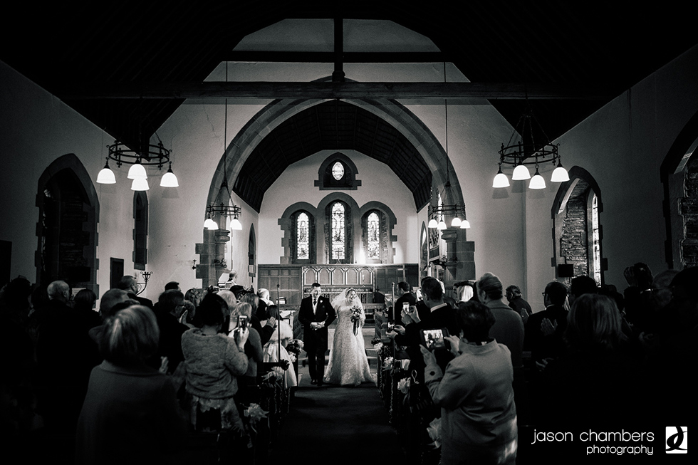 Watermillock Church Wedding for Gillian & Nick - Photo of the month November