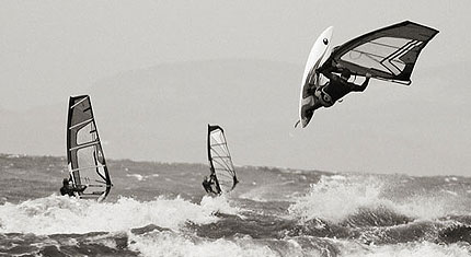 Windsurfing in Cumbria