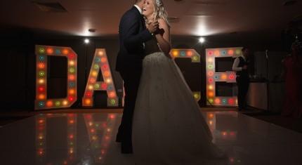 first dance wedding photographs