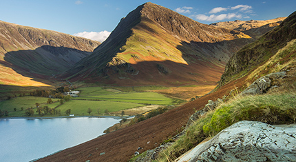Square Format Buttermere Landscape Photography - image