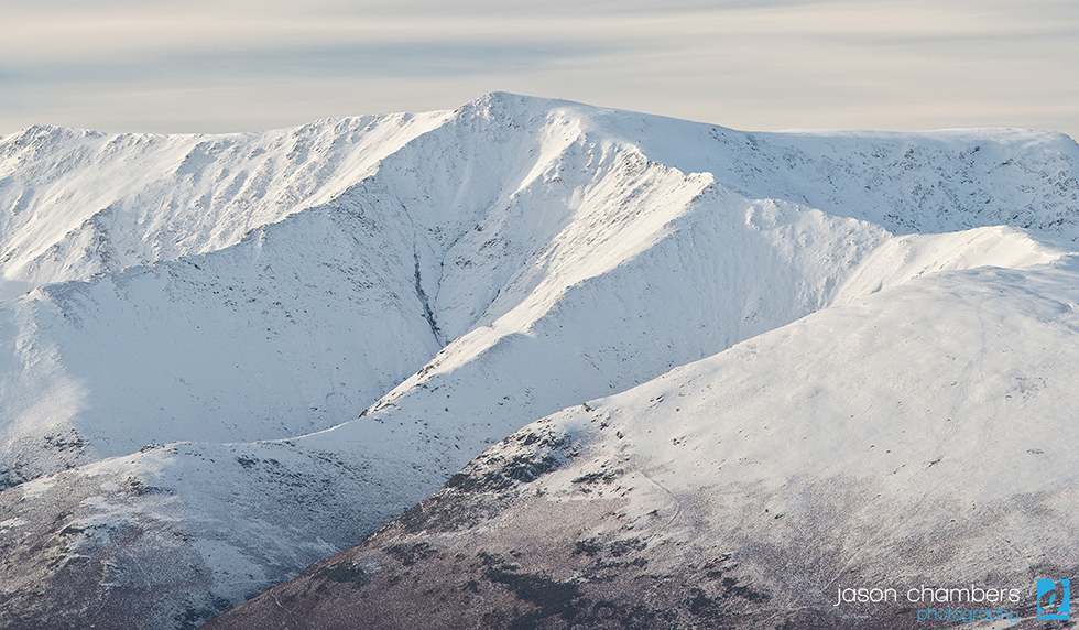 winter photographs Blencathra