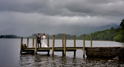 Lisa & Ric – Wythburn Church – Thirlmere – Lodore Falls Hotel – Borrowdale - image