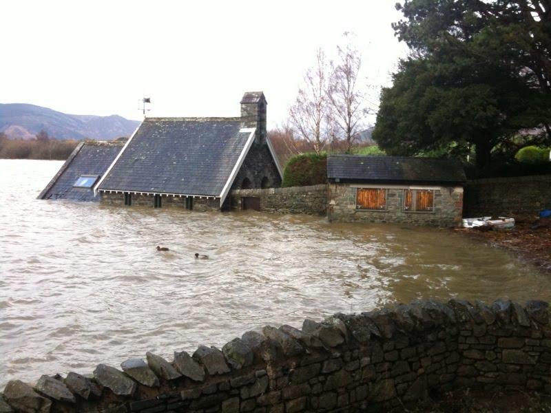 Derwentwater in Flood