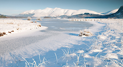 Winter in the Lake District National Park - image