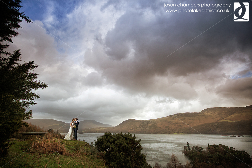 Storm Desmond Wedding Photo
