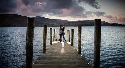 Michael's surprise sunset wedding proposal - image