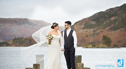 Protected: Laura and Mark's gazebo winter wedding at the Inn on the Lake - image